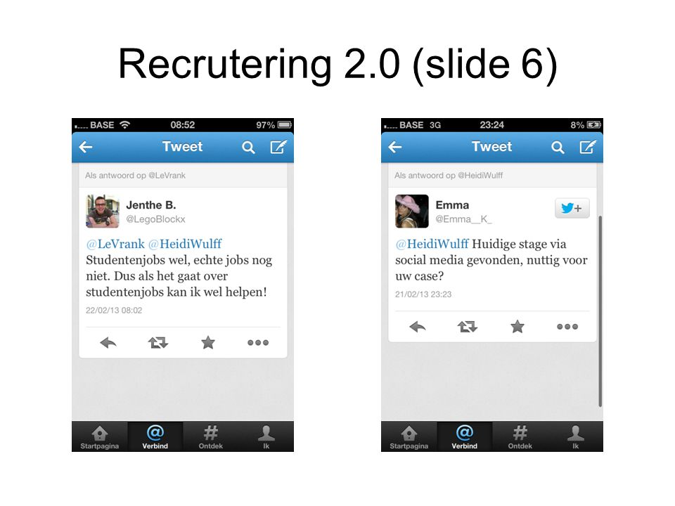 Recrutering 2.0 (slide 6)
