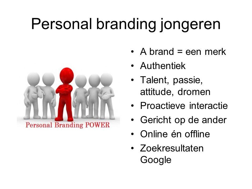 Personal branding jongeren