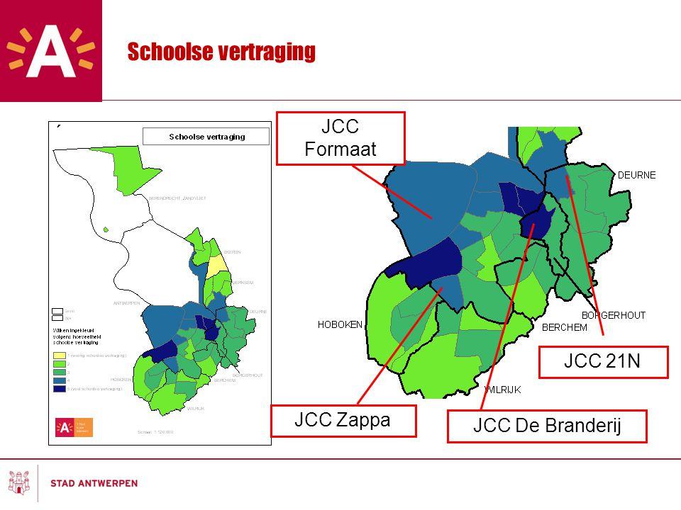 Schoolse vertraging JCC Formaat JCC 21N JCC Zappa JCC De Branderij
