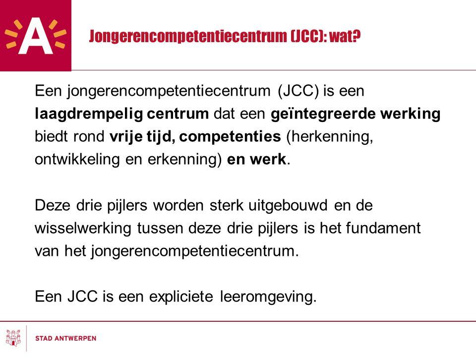 Jongerencompetentiecentrum (JCC): wat