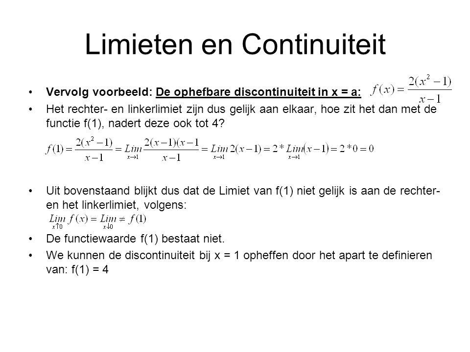 Limieten en Continuiteit