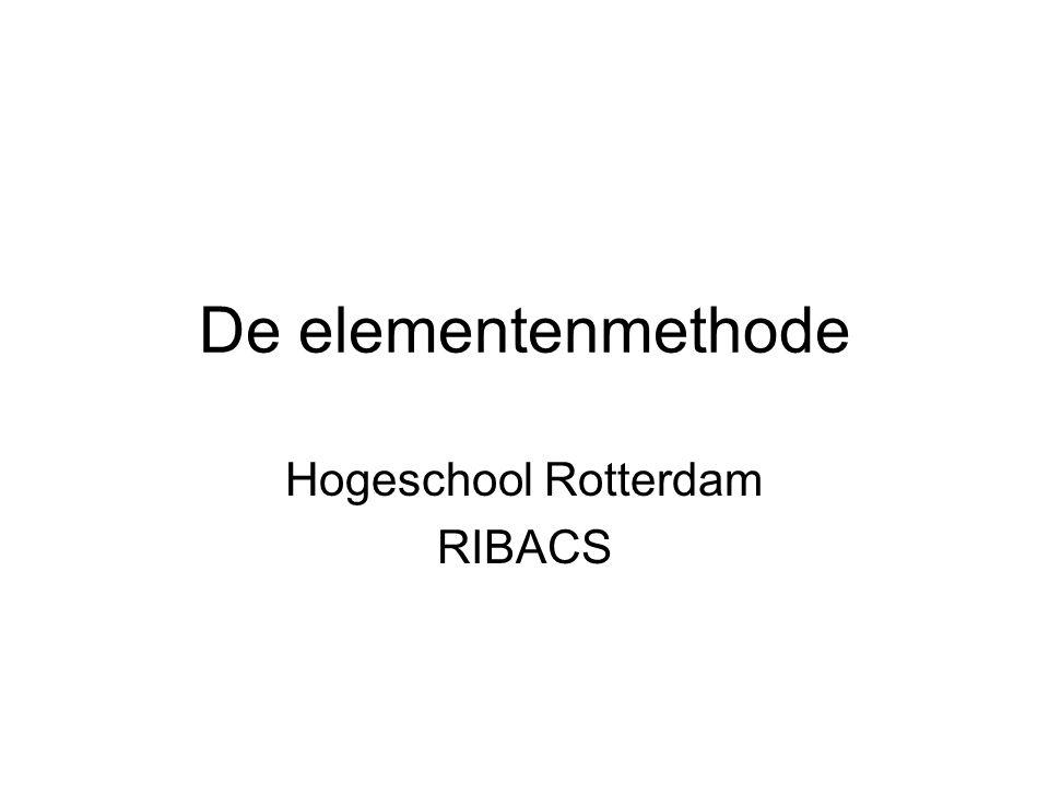 Hogeschool Rotterdam RIBACS
