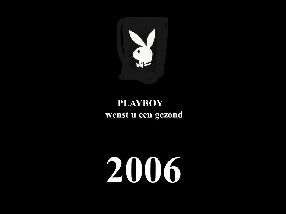 PLAYBOY wenst u een gezond 2006