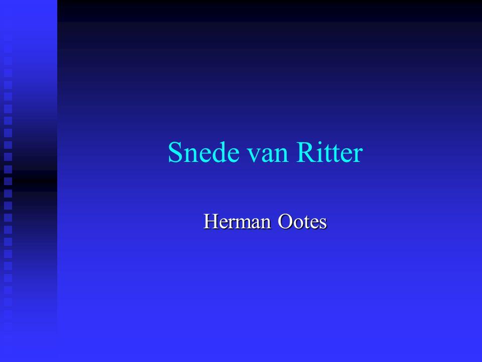 Snede van Ritter Herman Ootes
