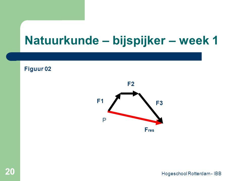 Natuurkunde – bijspijker – week 1