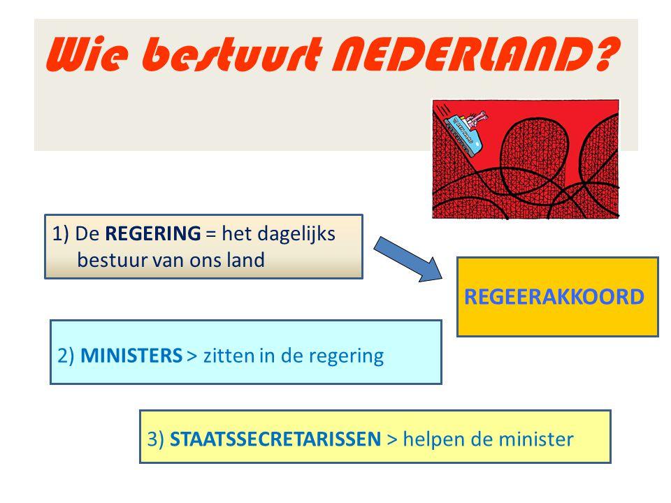 Wie bestuurt NEDERLAND