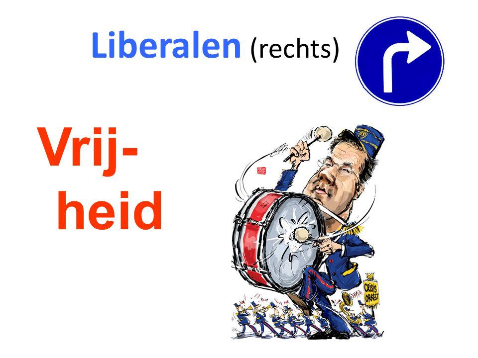 Liberalen (rechts) Vrij-heid