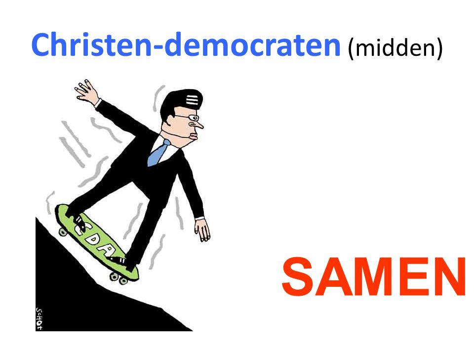 Christen-democraten (midden)