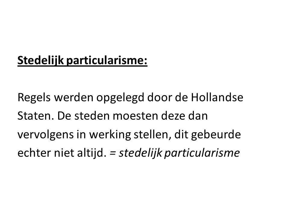 Stedelijk particularisme: