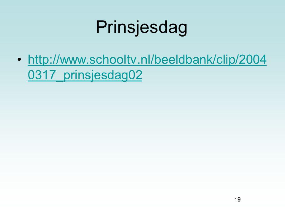 Prinsjesdag http://www.schooltv.nl/beeldbank/clip/2004 0317_prinsjesdag02 19