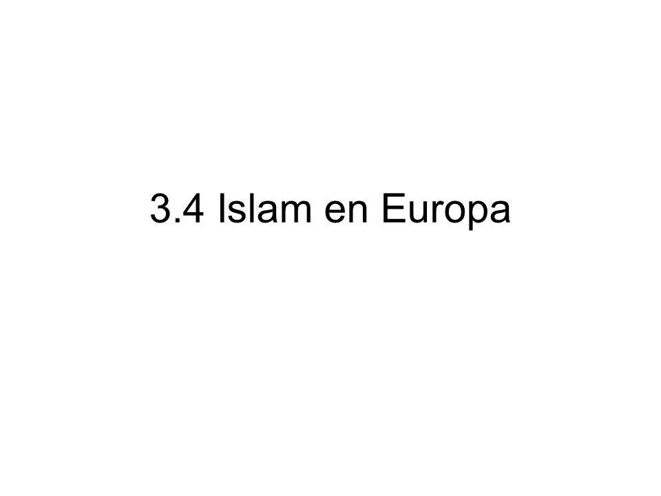3.4 Islam en Europa