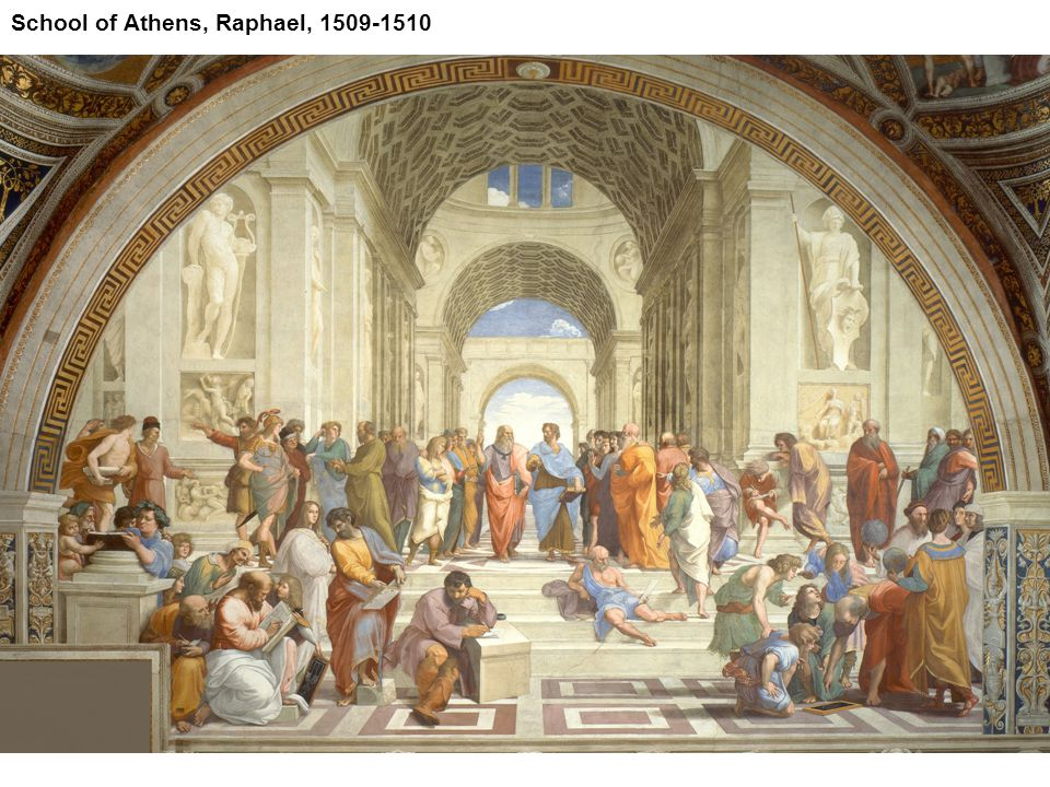 School of Athens, Raphael, 1509-1510