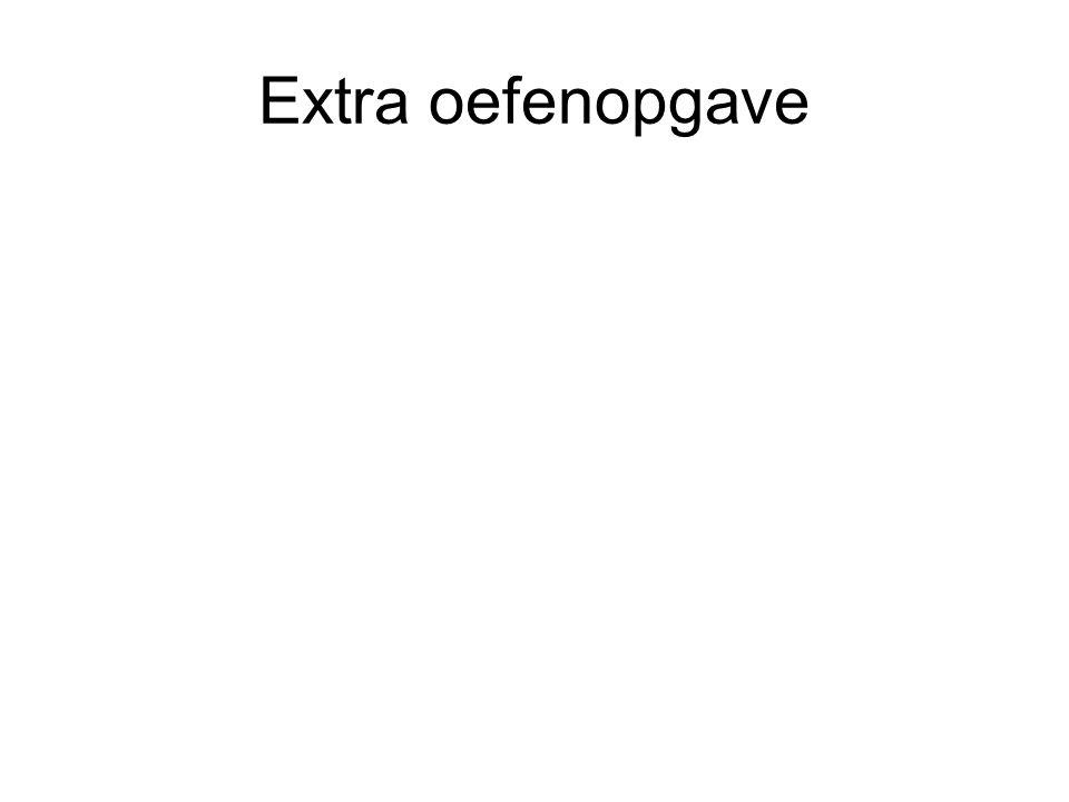 Extra oefenopgave
