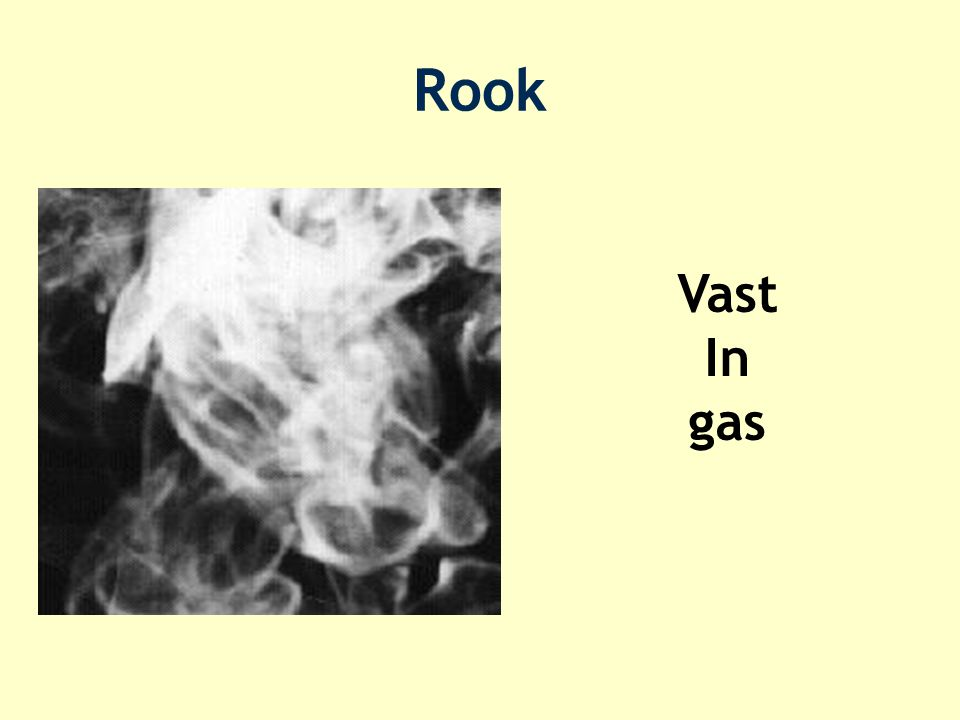 Rook Vast In gas