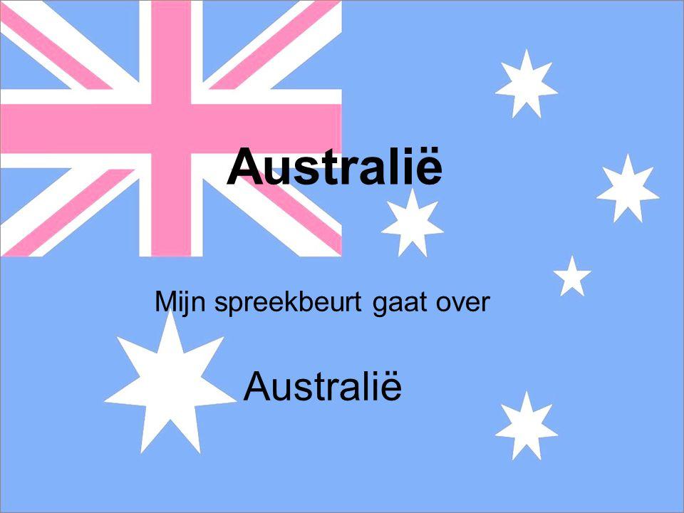 Mijn spreekbeurt gaat over Australië