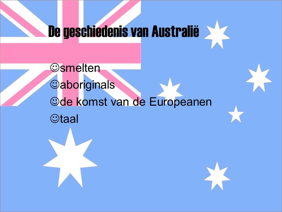 De geschiedenis van Australië