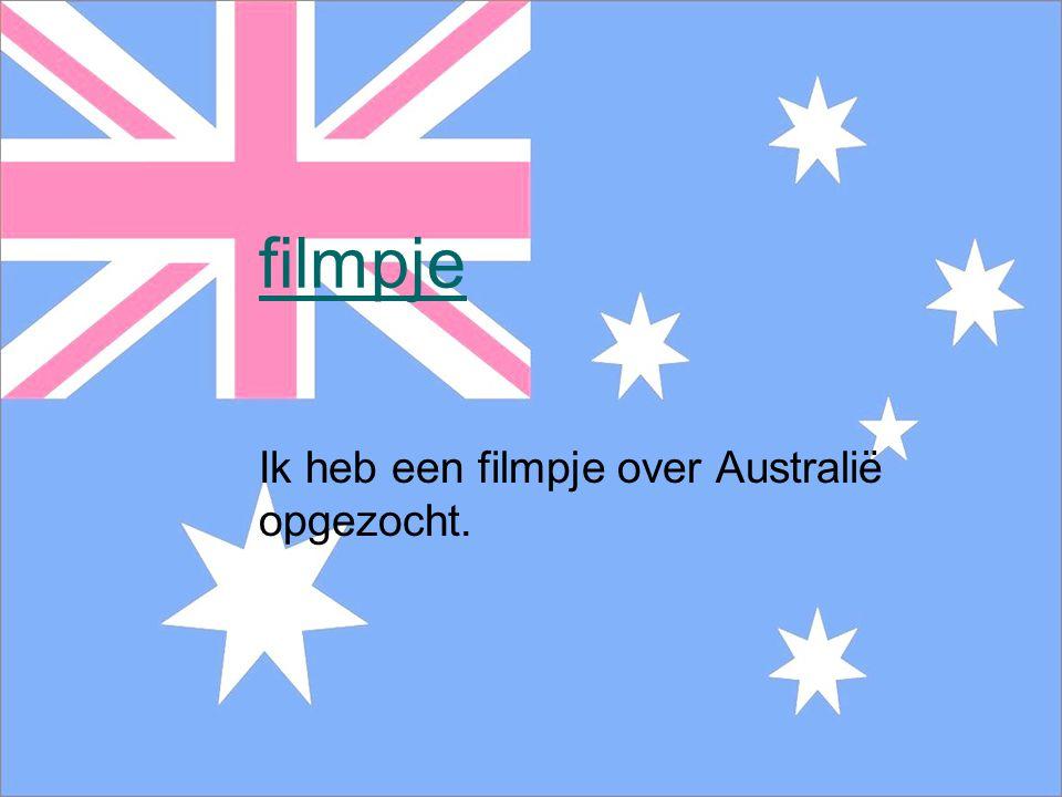 Ik heb een filmpje over Australië opgezocht.