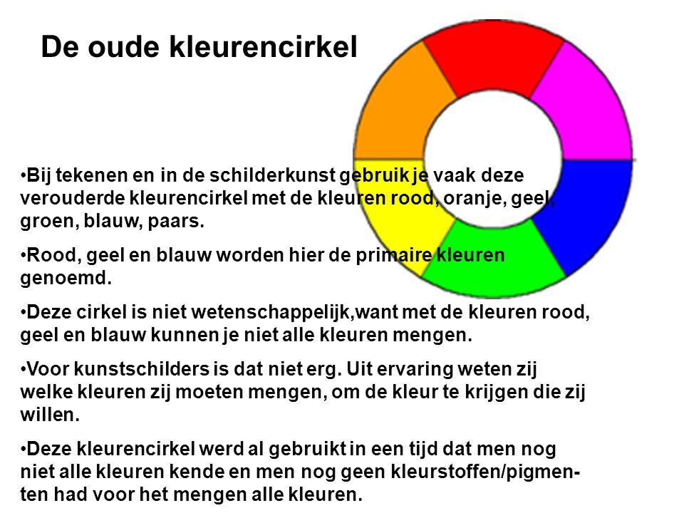 De oude kleurencirkel