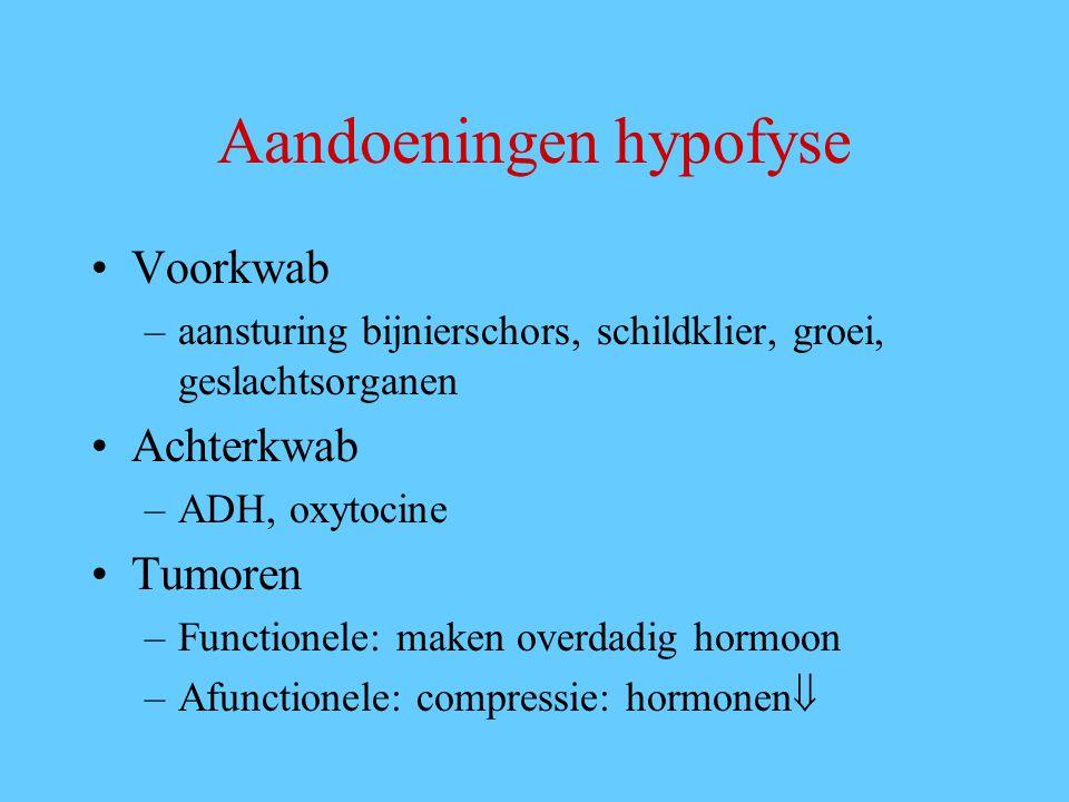 Aandoeningen hypofyse