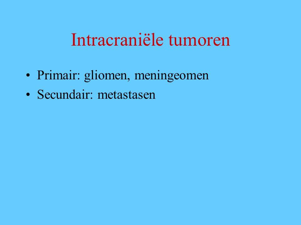 Intracraniële tumoren
