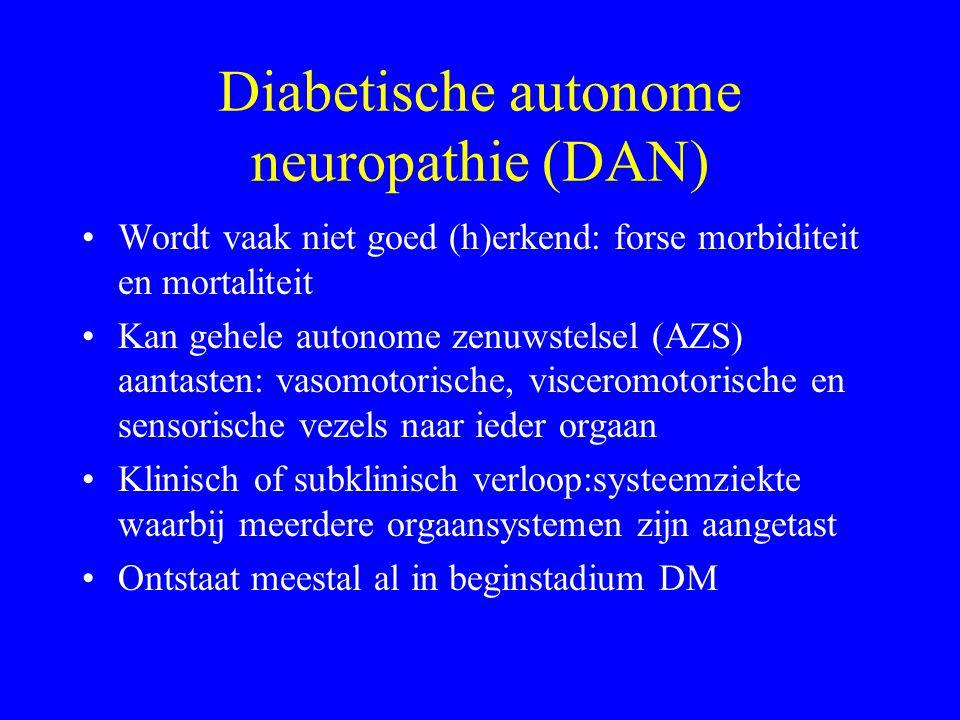 Diabetische autonome neuropathie (DAN)