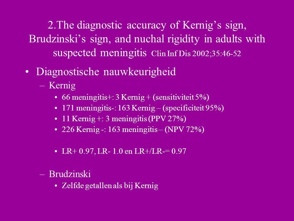 Diagnostische nauwkeurigheid