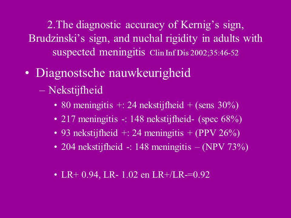 Diagnostsche nauwkeurigheid
