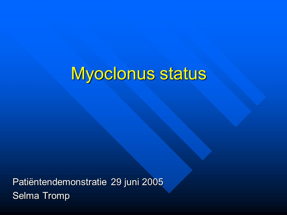 Patiëntendemonstratie 29 juni 2005 Selma Tromp