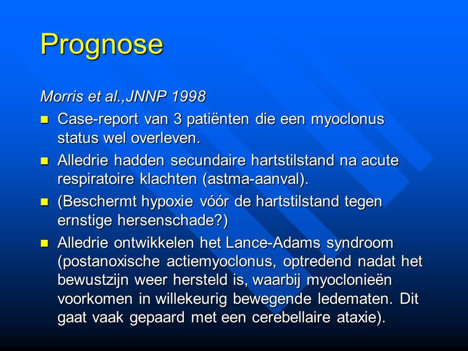 Prognose Morris et al.,JNNP 1998
