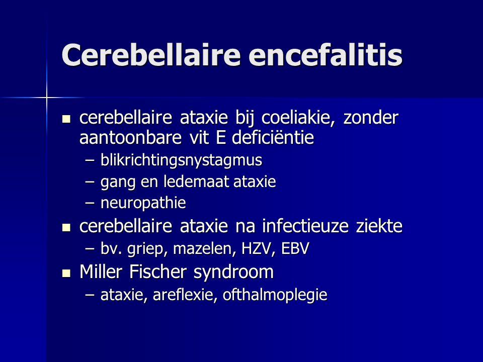 Cerebellaire encefalitis