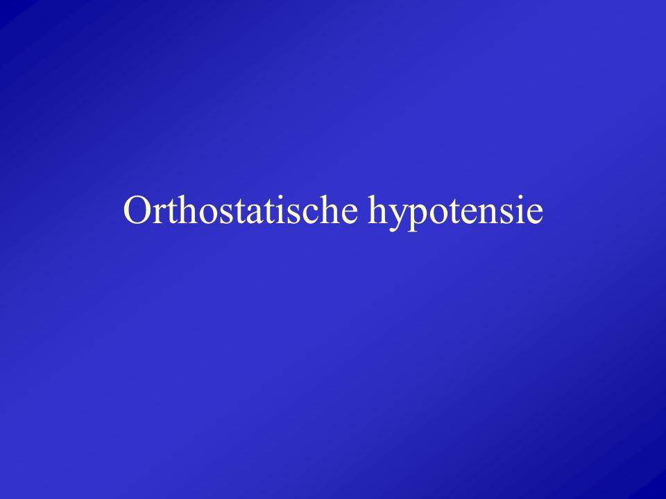 Orthostatische hypotensie
