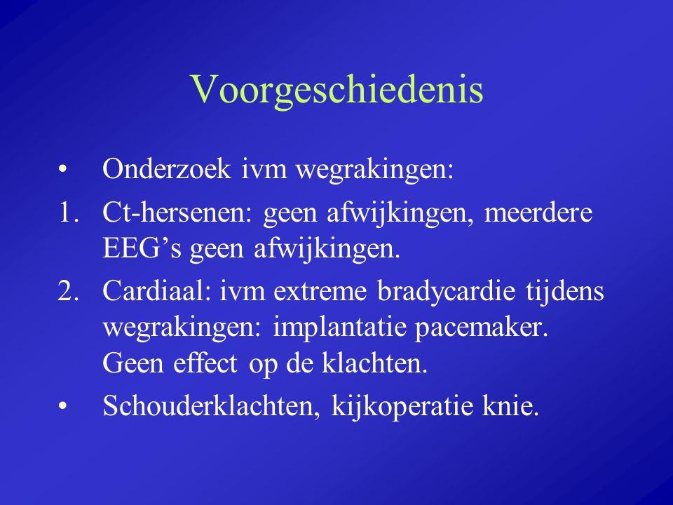 Voorgeschiedenis Onderzoek ivm wegrakingen:
