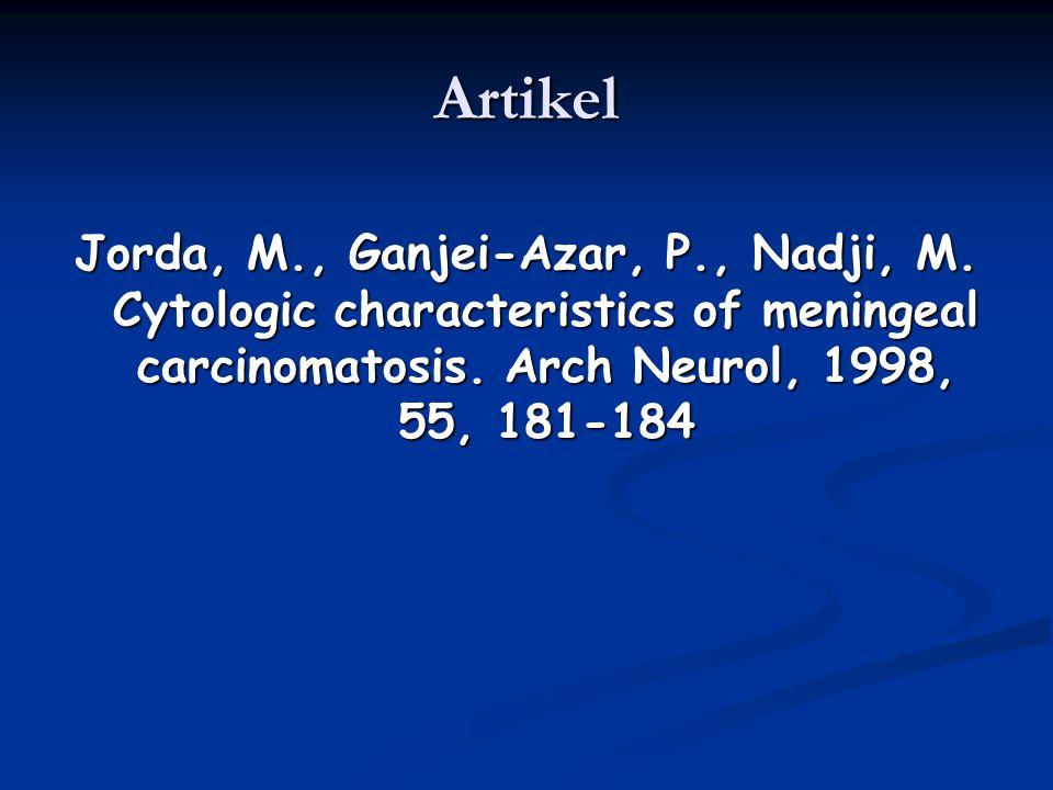 Artikel Jorda, M., Ganjei-Azar, P., Nadji, M.