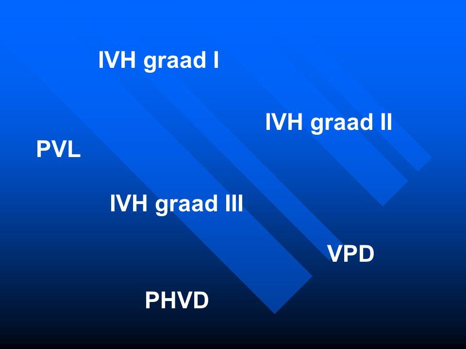 IVH graad I IVH graad II PVL IVH graad III VPD PHVD