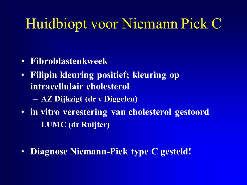 Huidbiopt voor Niemann Pick C