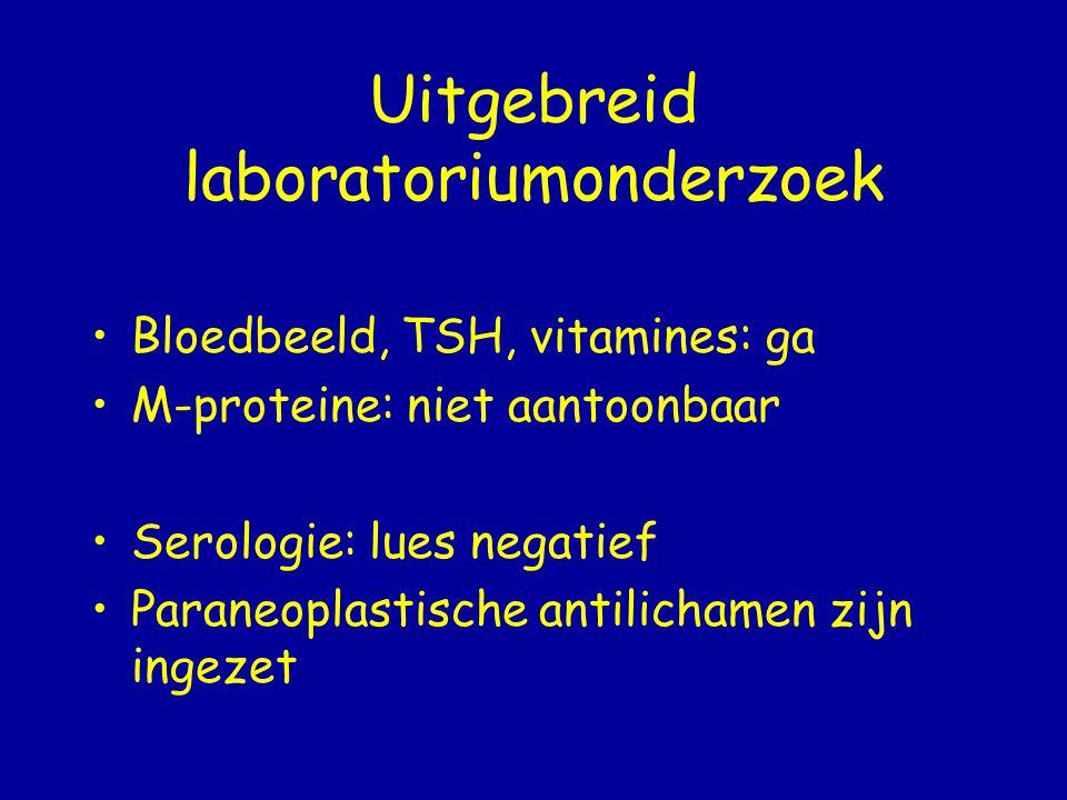 Uitgebreid laboratoriumonderzoek