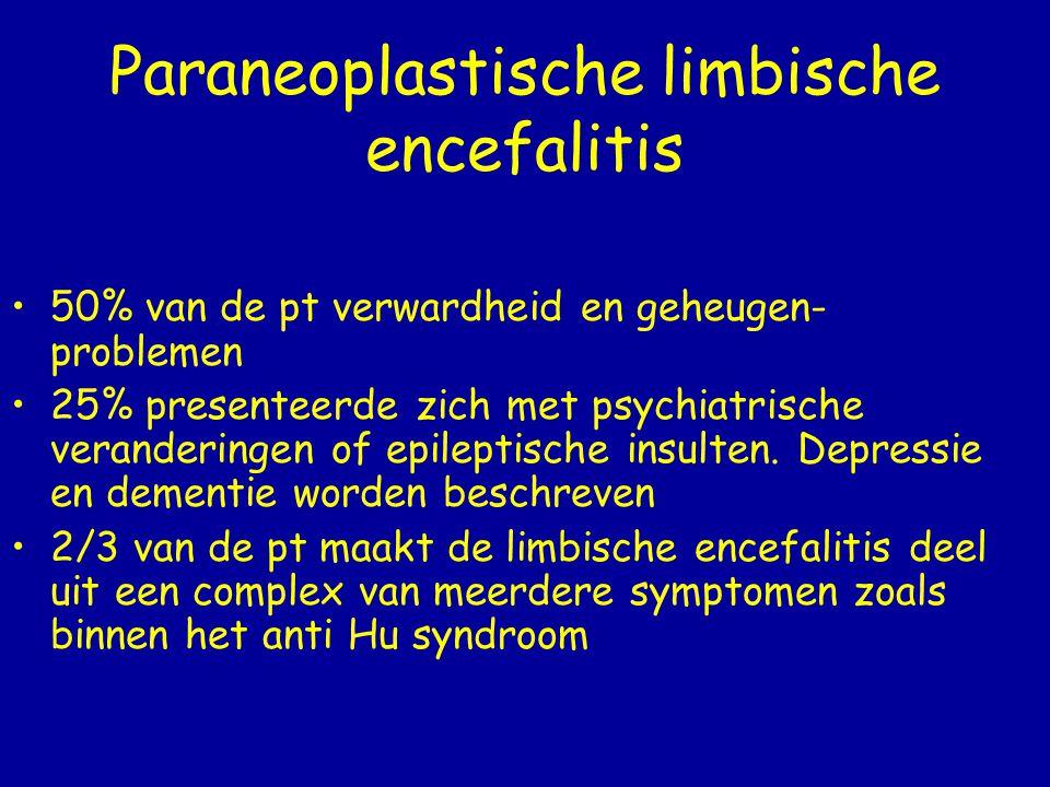 Paraneoplastische limbische encefalitis