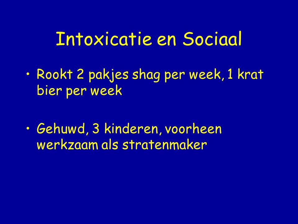 Intoxicatie en Sociaal