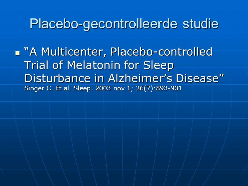 Placebo-gecontrolleerde studie