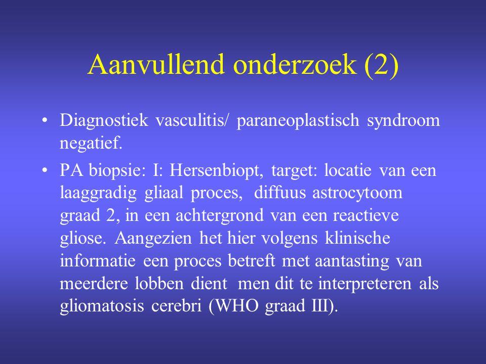 Aanvullend onderzoek (2)