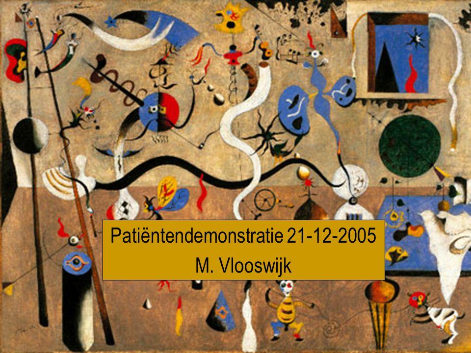 Patiëntendemonstratie 21-12-2005