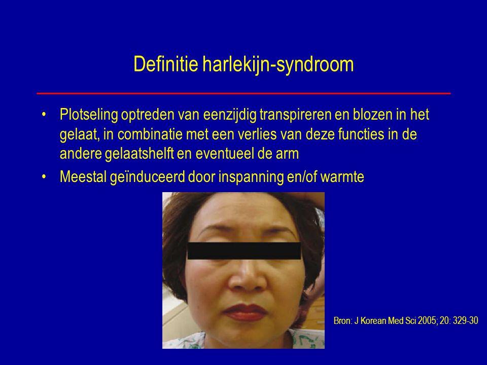 Definitie harlekijn-syndroom