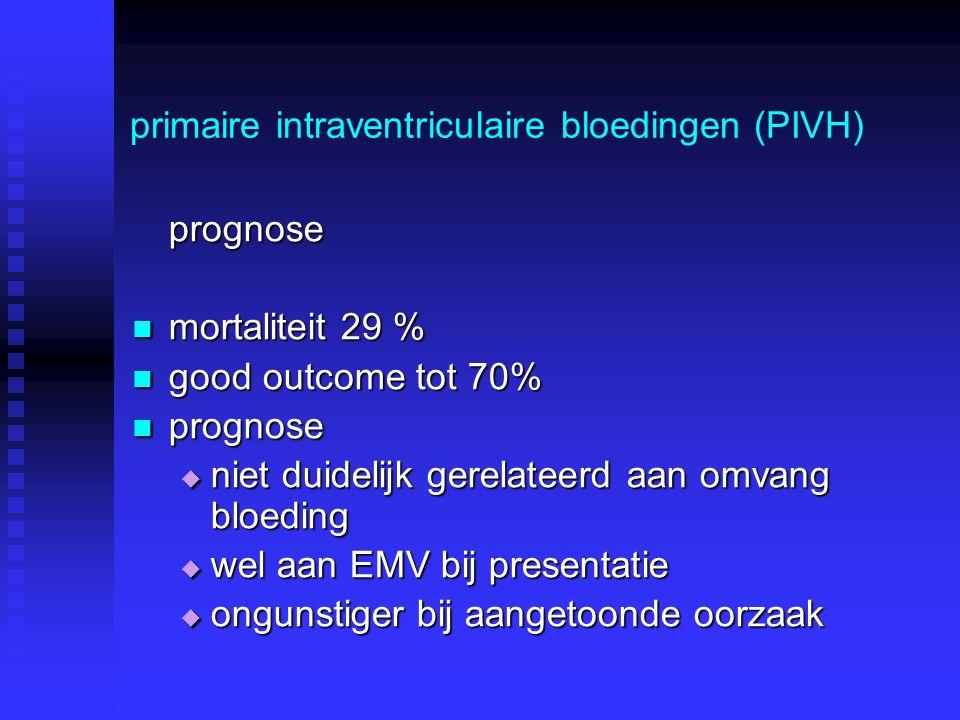 primaire intraventriculaire bloedingen (PIVH)