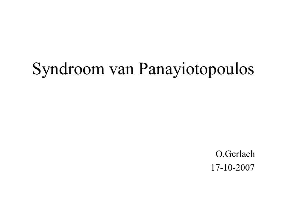 Syndroom van Panayiotopoulos