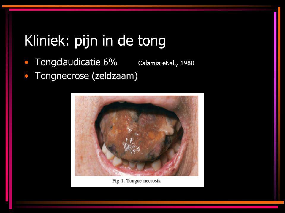 Kliniek: pijn in de tong