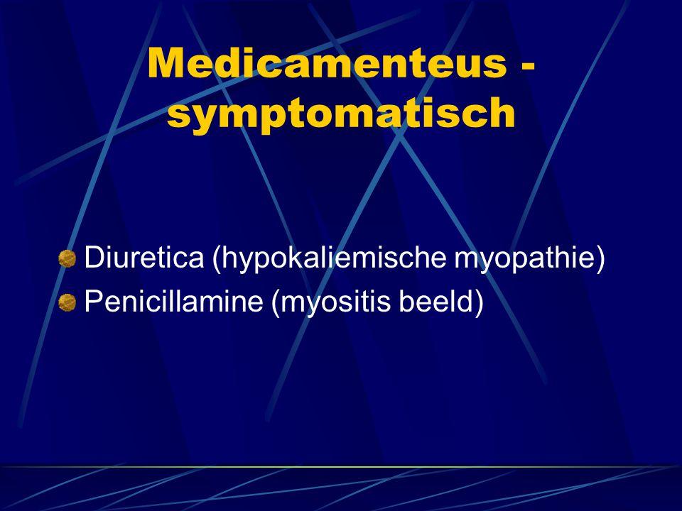 Medicamenteus - symptomatisch