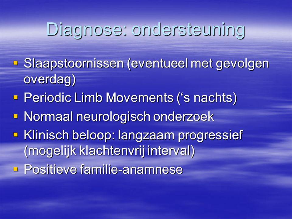 Diagnose: ondersteuning