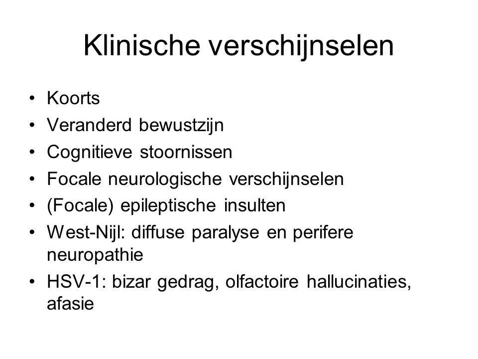 Klinische verschijnselen