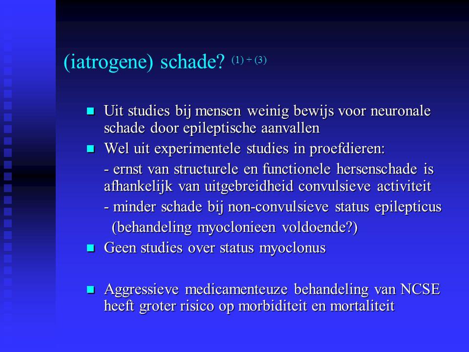 (iatrogene) schade (1) + (3)