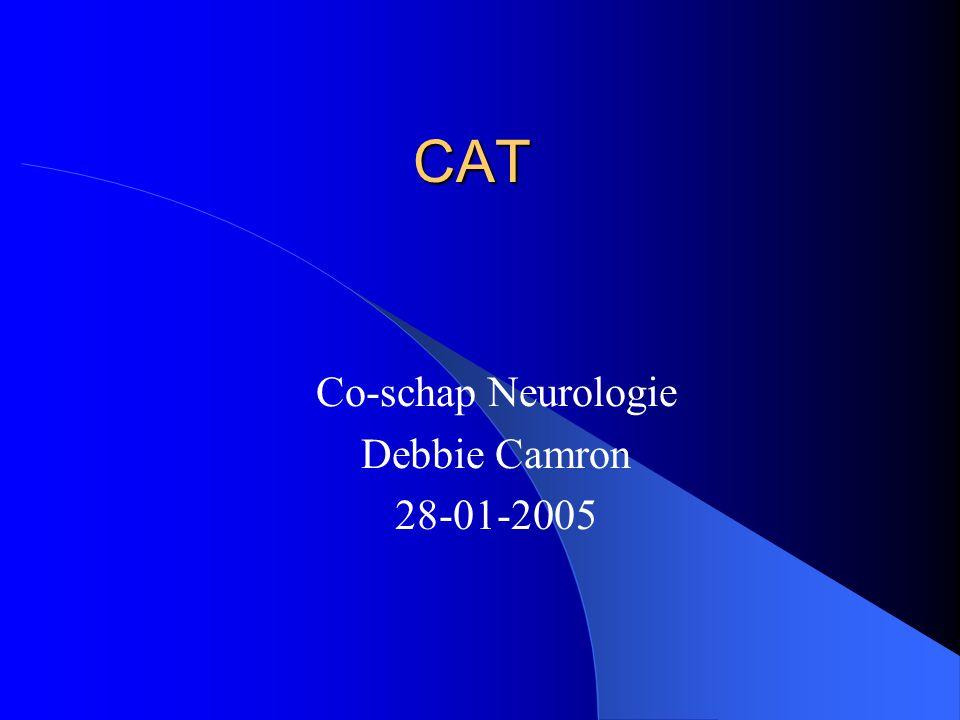 Co-schap Neurologie Debbie Camron 28-01-2005